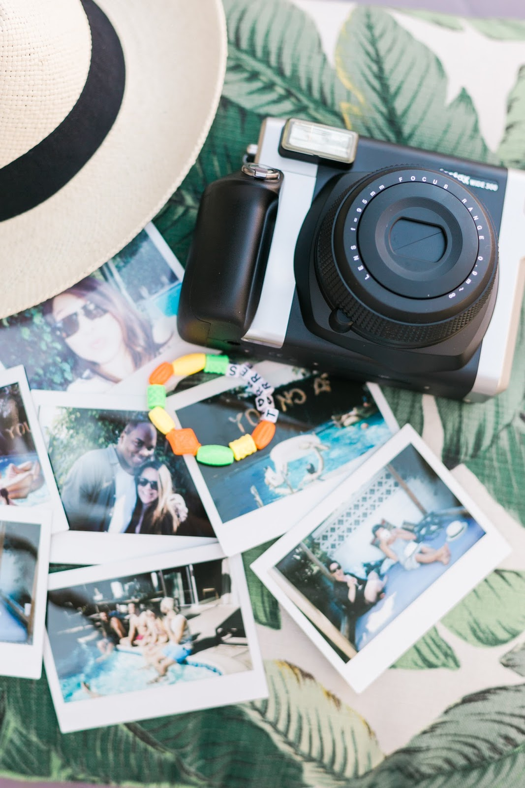 how to throw a pool party, polaroid party pics, urban outfitters essentials