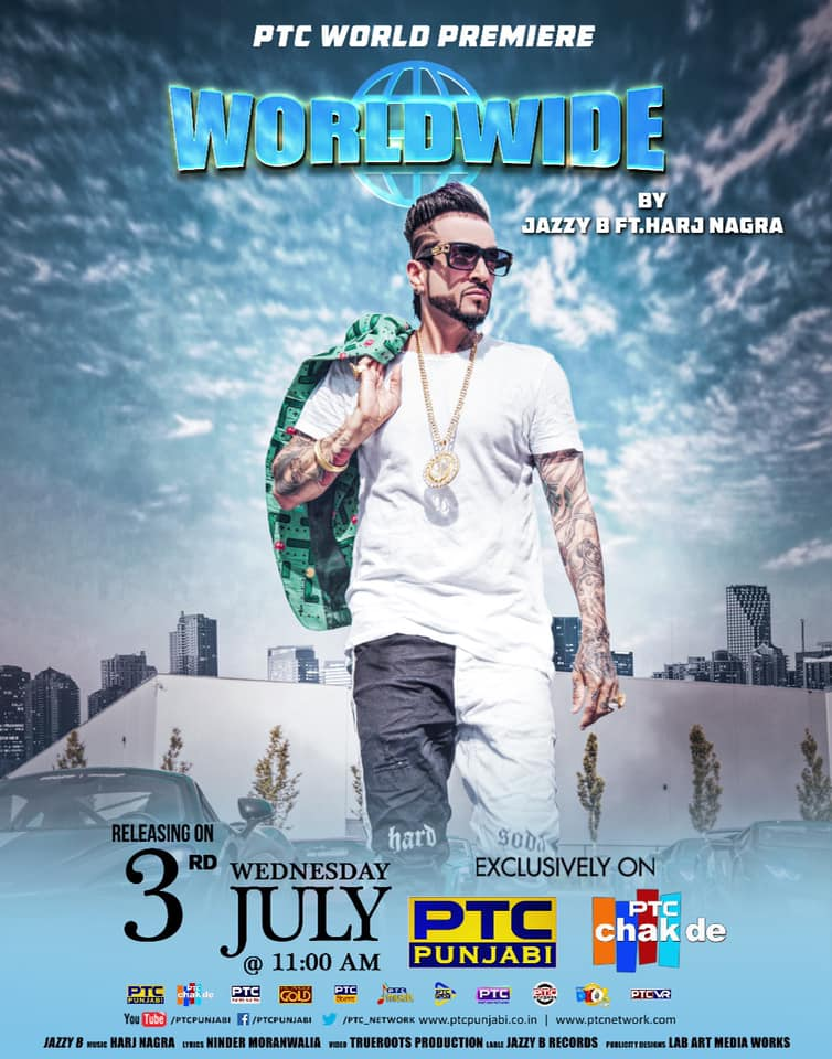 Worldwide - Jazzy B New Punjabi Song 2019 | Lyrics and Video