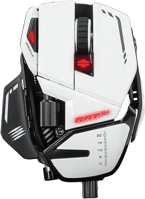 Review Mad Catz The Authentic R.A.T. 8+ Gaming Mouse