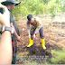 Jaga Kampung, Kapolresta Bengkalis Datangi Pembibitan Kayu Gerunggang