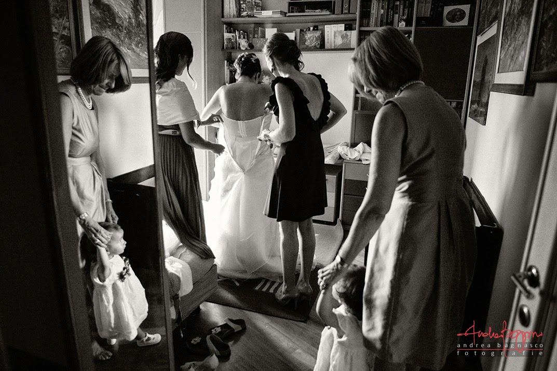 vestizione sposa matrimonio Genova Quarto
