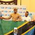Diamond akabidhiwa bendera ya taifa kuliwakilisha taifa AFCON 2017 nchini Gabon