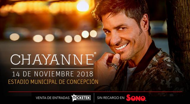 Esta noche Chayanne se presenta en Concepción