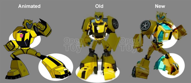Transformers Animated BUMBLEBEE complete deluxe