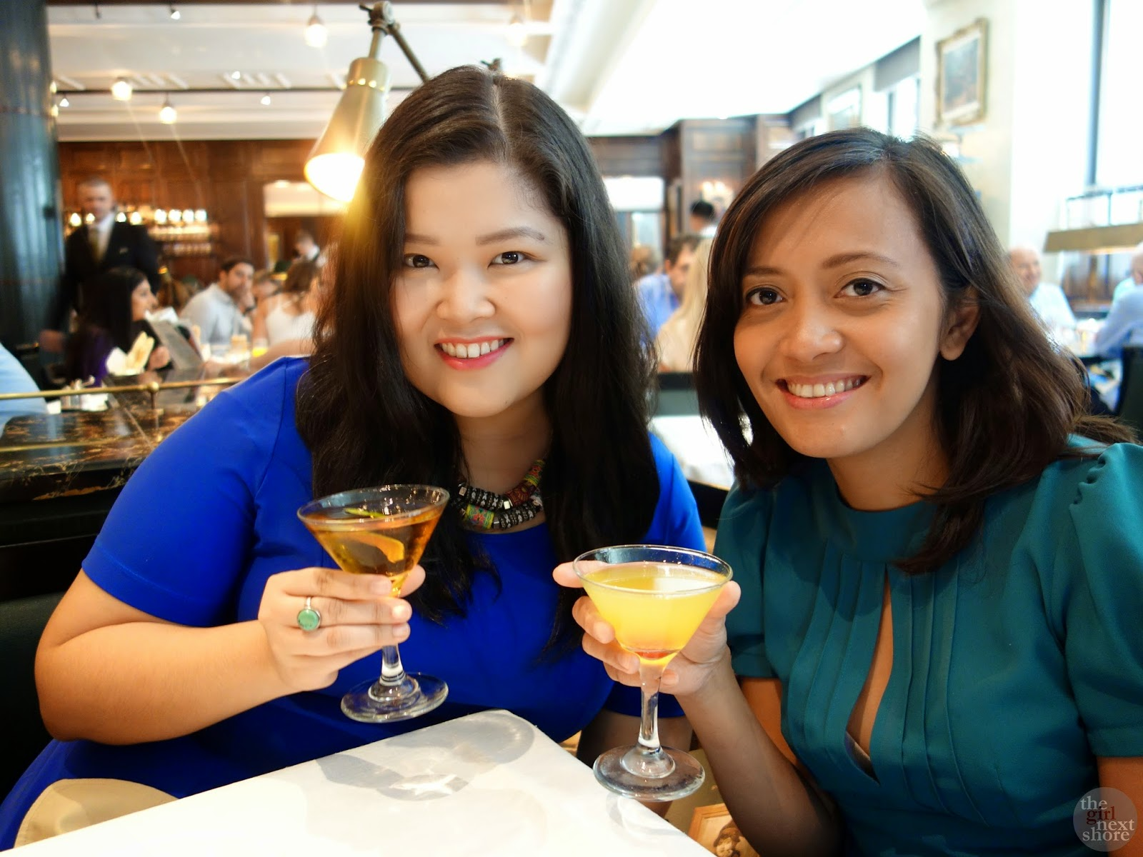 Brunch at The Delaunay: where the ladies got a bit cheeky