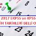 2017 EKPSS Tercih tarihleri açıklandı