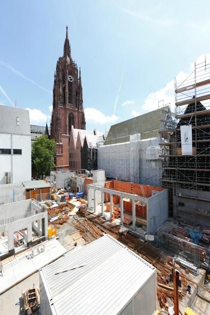 Torre da Catedral de Frankfurt e Projeto Dom Römer