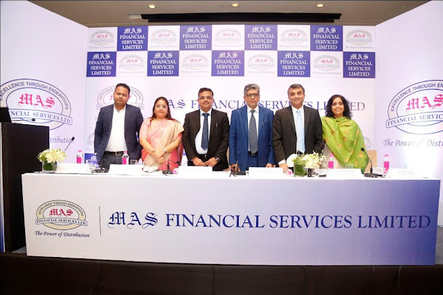 MAS Financial Services Limited's IPO to open on October 06, 2017 with Price Band of ₹456 to ₹459 per Equity Share each of Face Value of ₹ 10 each