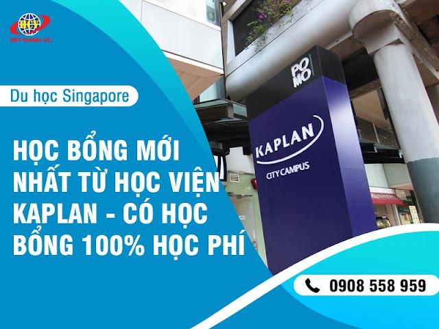 Du học Singapore: Học bổng mới nhất từ Học viện Kaplan – Lên đến 100% học phí!