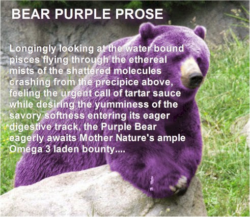 How to Make Purple Prose a little more Blue
