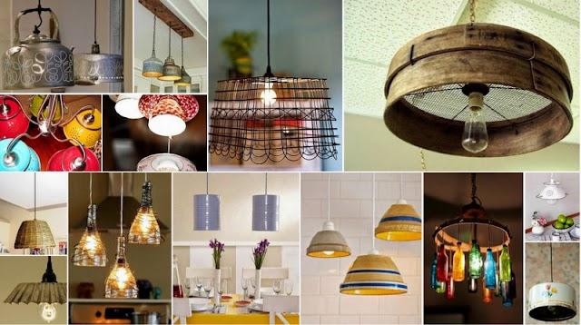 DIY Φωτιστικά για την Κουζίνα