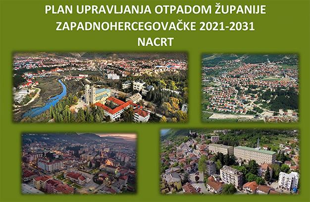 Javna rasprava o Planu upravljanja otpadom Županije Zapadnohercegovačke