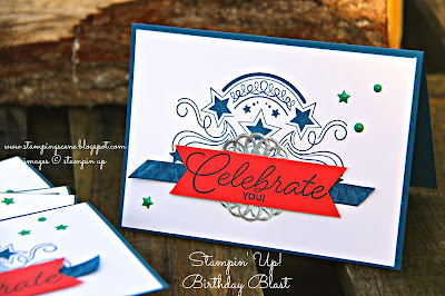 Stampin Up Birthday Blast Welcomes new team