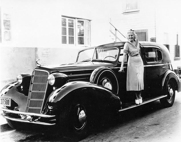 Porelpiano Hollywood Stars And Their Brand New Cadillac