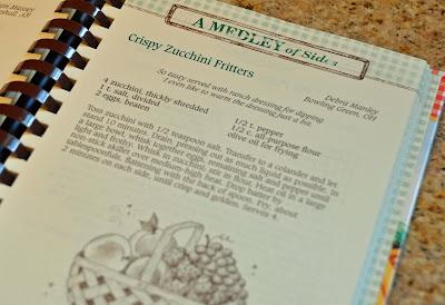 Crispy zucchini fritters recipe