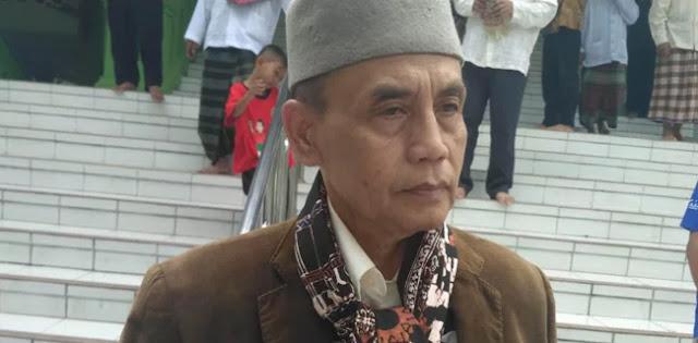 Anton Tabah: Penilaian Mahfud MD Dangkal Soal Yel-yel 'Kafir, Kafir No!'