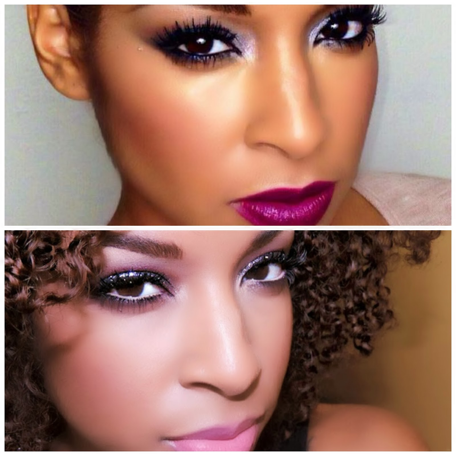 2 fab Makeup looks for the holidays