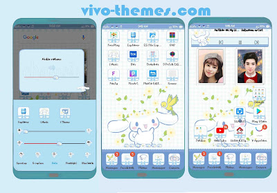 Cinnamoroll Theme For Android Vivo Phones