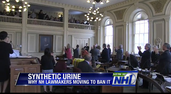 NH bans synthetic urine