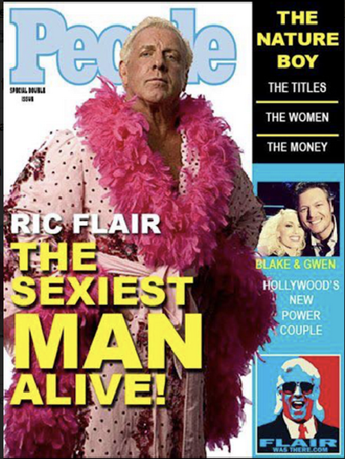 Ric Flair Sexiest Man Alive