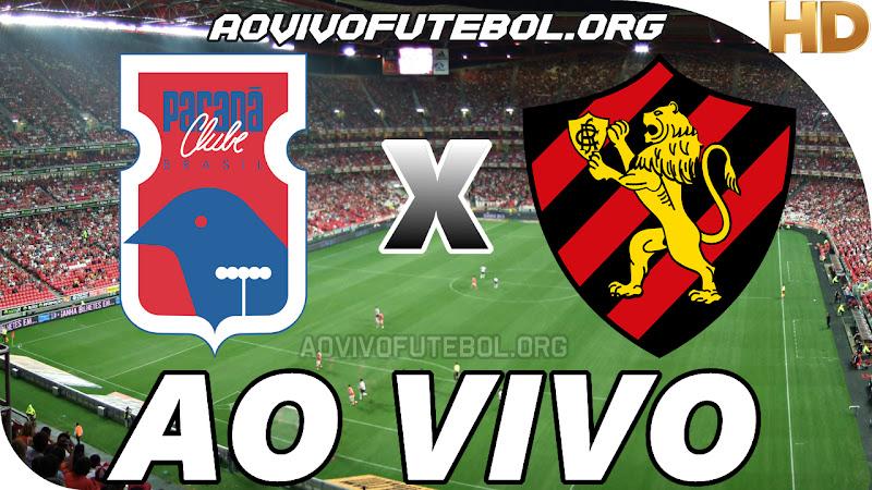 Paraná x Sport Ao Vivo Hoje em HD
