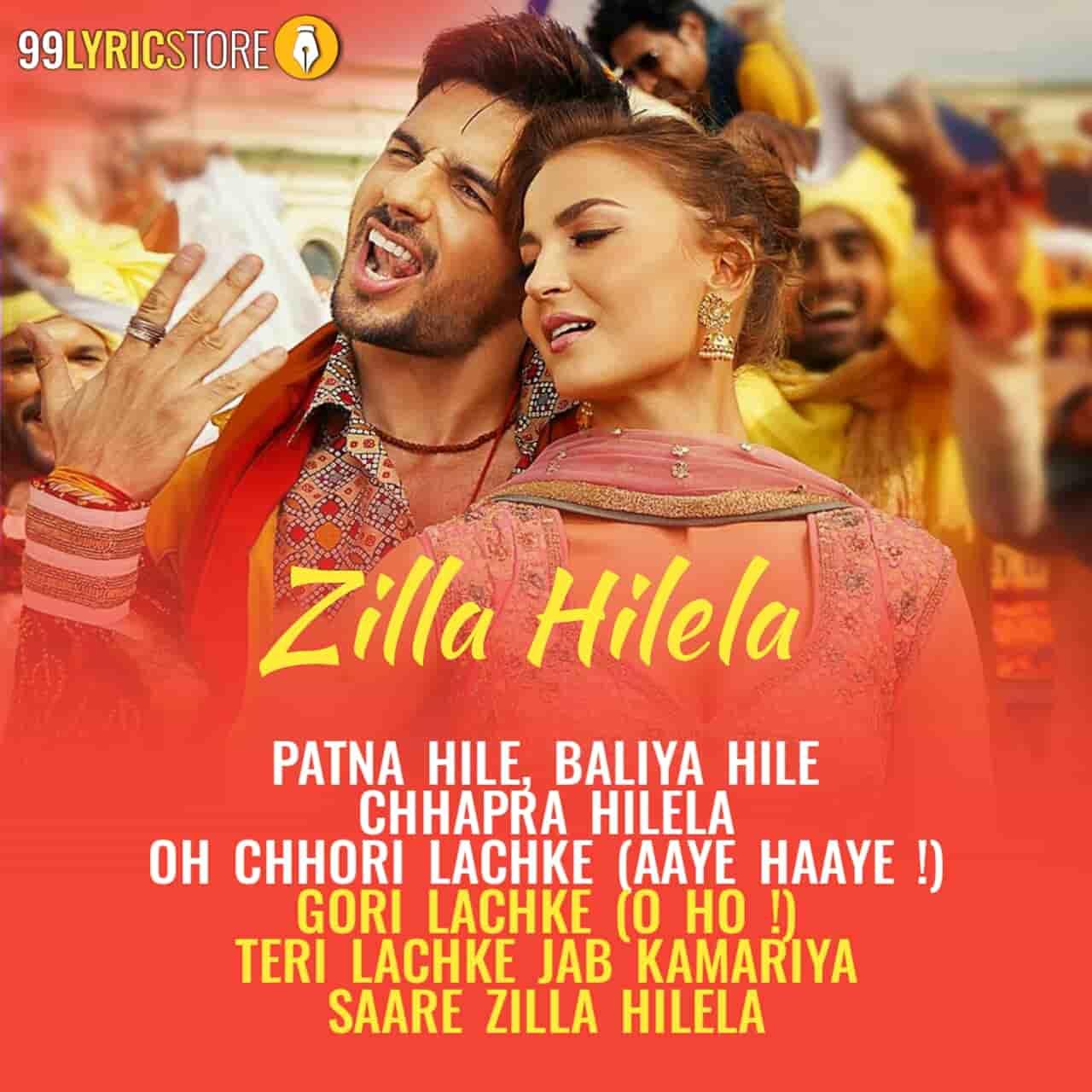 Zilla hilela song from movie Jabariya Jodi
