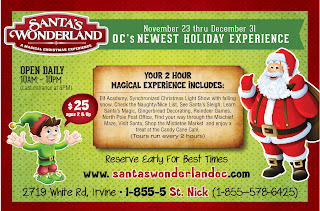 The North Pole comes to Southern California
