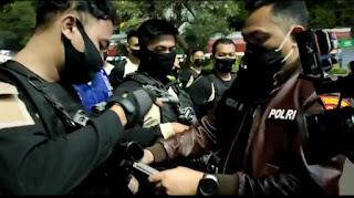 New Tim Elang Polrestabes Semarang Gelar Operasi malam Hari Antisipasi Kriminalitas Dan Balap Liar