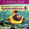 Matemáticas 4 grado Ejercicios Matemáticos 4 (Español) Pasta blanda