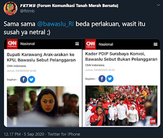 Kader PDIP Surabaya Konvoi, Bawaslu: Bukan Pelanggaran Karena Belum Ditetapkan Sebagai Calon