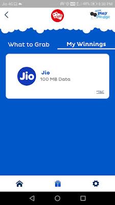 MyJio Oreo Play Pledge Free Data Proof