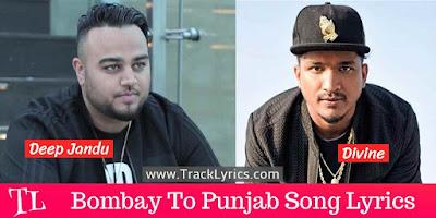 bombay-to-punjabi-lyrics