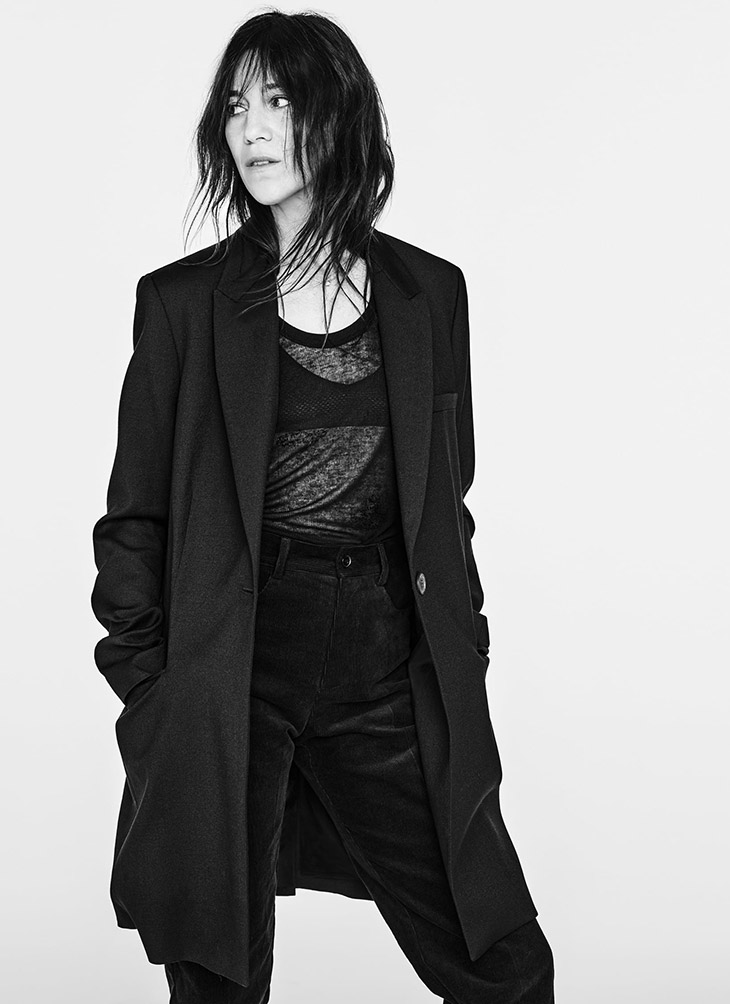 Zara and Charlotte Gainsbourg team up for a denim capsule collection