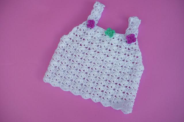 5 - Crochet Imagen Sencilla camiseta de tirantes para el verano a crochet por Majovel Crochet