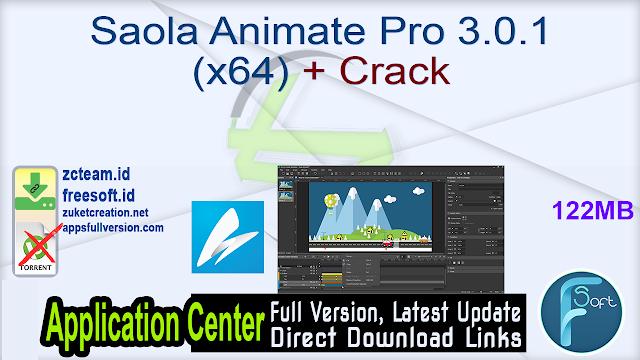 Saola Animate Pro 3.0.1 (x64) + Crack_ ZcTeam.id