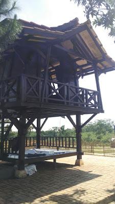 Contoh Villa/Resort di Kampoeng Kurma