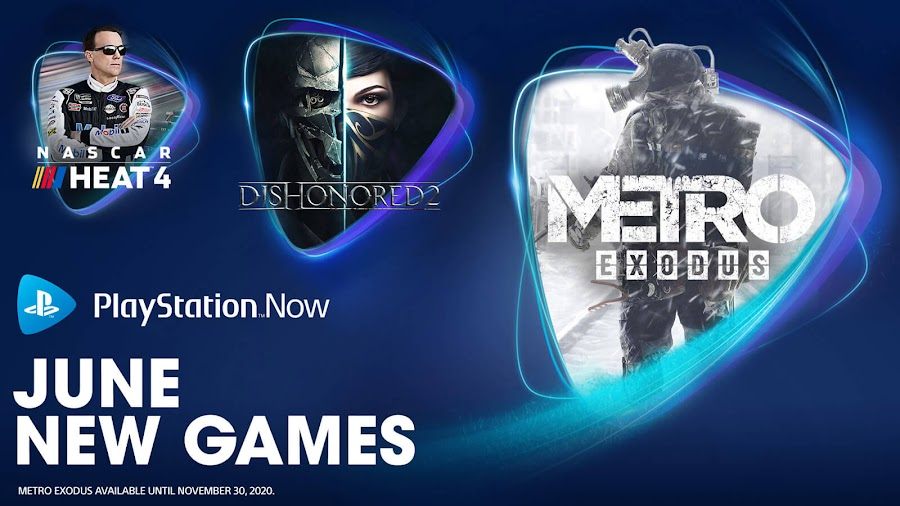 playstation now dishonored 2 metro exodus nascar heat 4 ps4 lineup sony