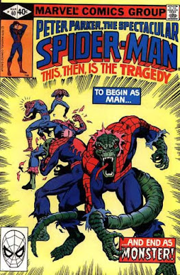 Spectacular Spider-Man #40, Spider-Lizard