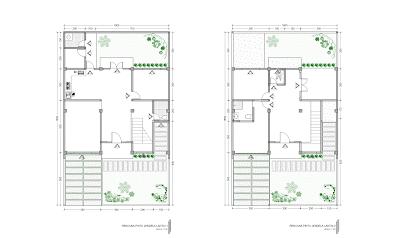 Gambar Rencana Pintu dan Jendela Lantai 1 dan 2