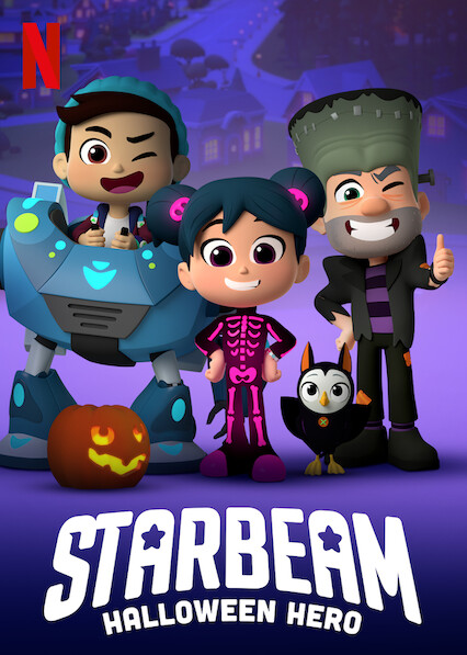 Xem Phim Siêu Anh Hùng Mầm Non: Giải Cứu Halloween -  StarBeam: Halloween Hero