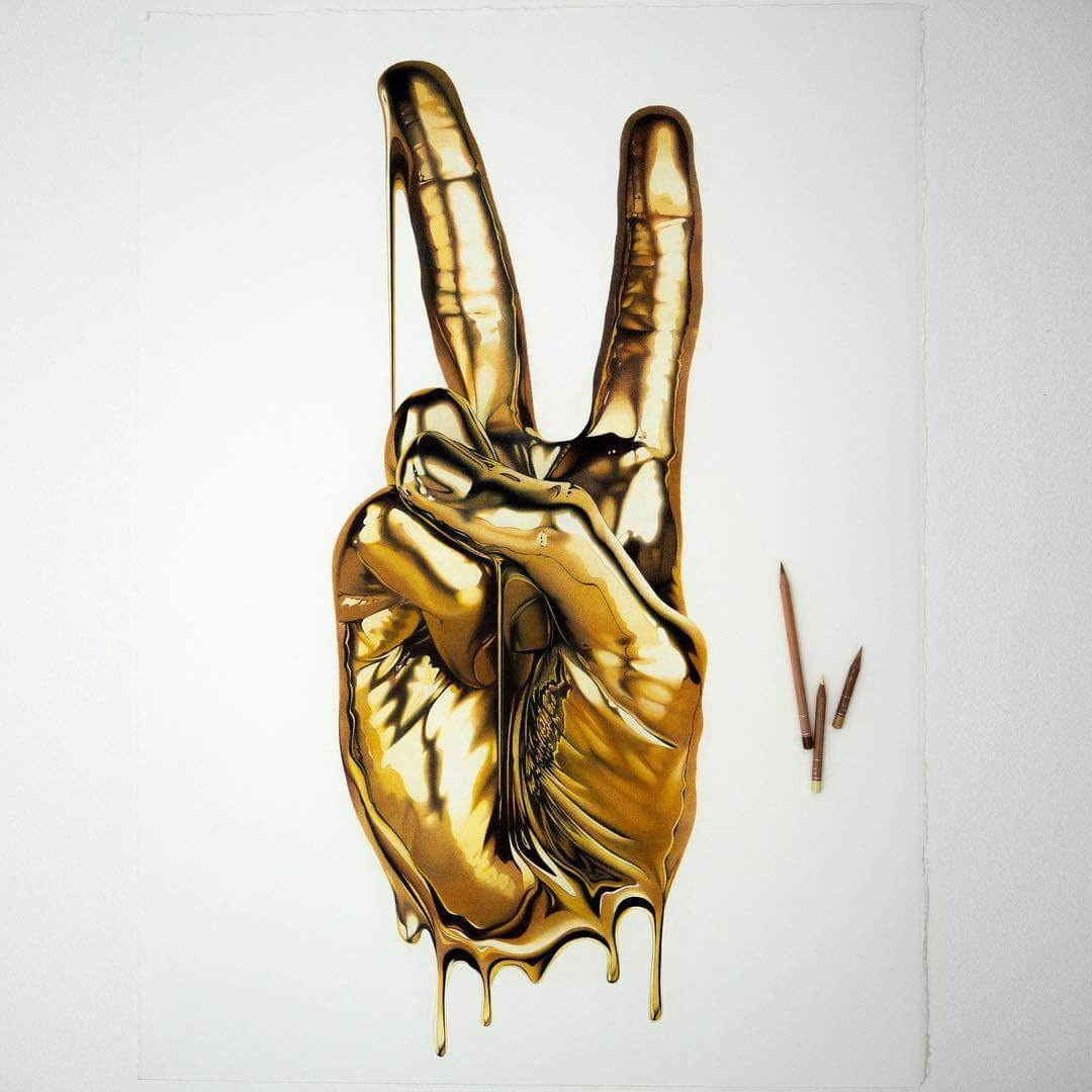 03-Peace-Gold-hand-Alessandro-Paglia-Drawings-www-designstack-co