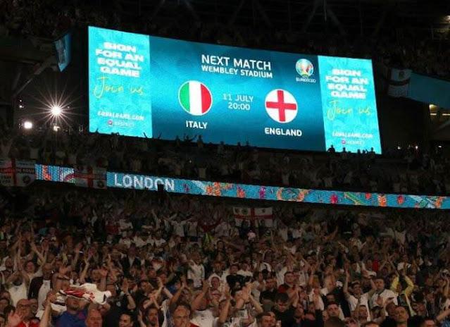 Inglaterra vs Italia Euro 2020