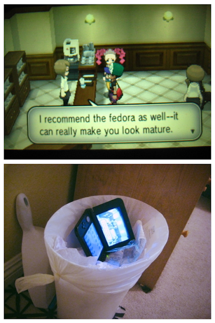 Pokemon offering you a fedora