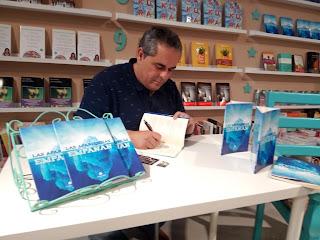 Presentación de la colección de relatos en Librería Alavera