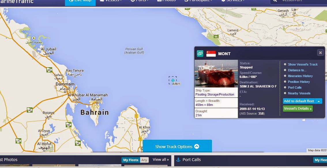 TI Europe, Largest Oil Tanker, Sits Off Malaysia | Zero Hedge | Zero