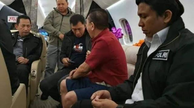 Video Viral Djoko Tjandra Tak Diborgol, Polri: Itu Serah Terima di Pesawat