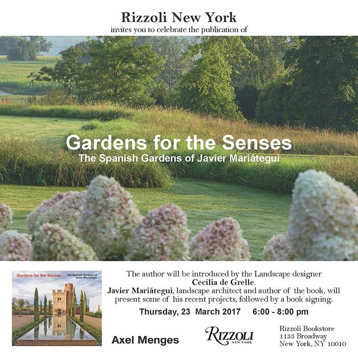 Gardens for the Senses del paisajista Javier Mariátegui