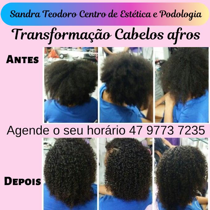Transformação Cabelos Afros