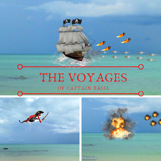 **2015 REVISITED** Tuesday Tails ~ The Extraordinary Voyages of Cap'n Basil Blackheart & His Motley Crew ~ Part IX ©BionicBasil®  Recap Banner