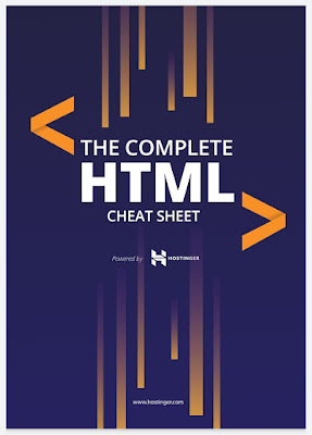 The Complete HTML Cheat Sheets 2020 PDF free